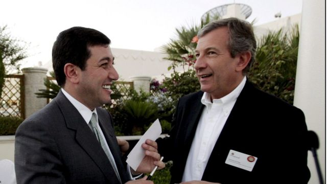 Basem Awadallah and Richard Atias, President of a company organizing conferences and parties - 2006