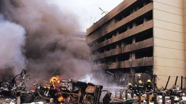 Al-Masry is believed to be the mastermind of the bombing of the US embassies in Kenya and Tanzania