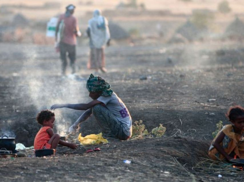 أجبر القتال في تيغراي المدنيين على الفرار عبر الحدود إلى السودان