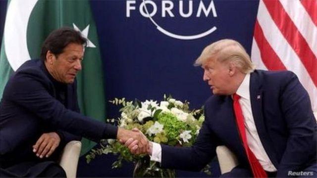 Imran Khan iyo Donald Trump