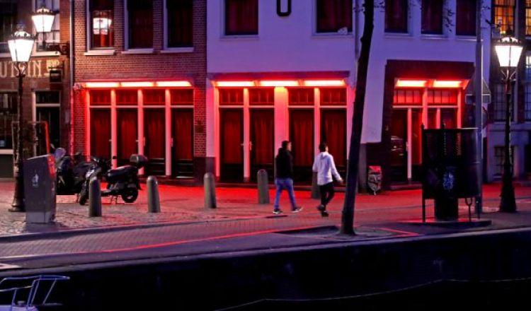 Distrito rojo en Amsterdam