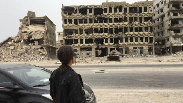 ما بقي من منزلهم في بنغازي