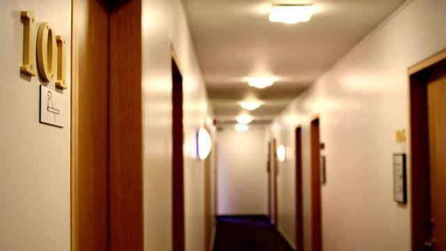 Hotel de aislamiento.