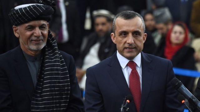 تفویض صلاحیت اشرف غنی به امرالله صالح؛ 'توزیع زمین به مهاجران و هماهنگی با سازمان ملل' - BBC News فارسی