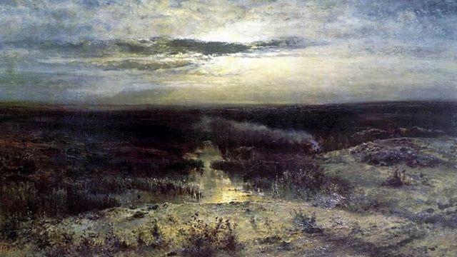 Картина болото