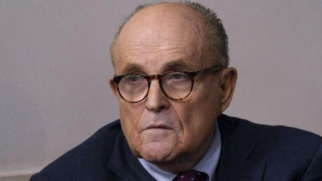 Rudy Giuliani, Trump's attorney