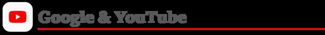 Google and YouTube logo