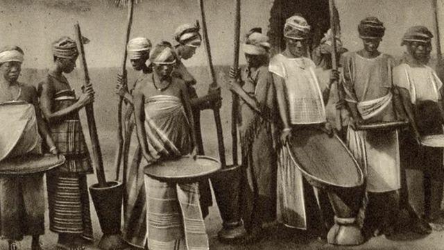 """اختطف المستعمرون في الولايات المتحدة الأفارقة من """"ساحل الأرز""""، لخبرتهم في الزراعة"""