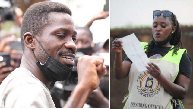 Uganda Elections 2021 Results: Bobi Wine vs Yoweri Museveni - 'Electoral Commission respect di voices of Uganda pipo'