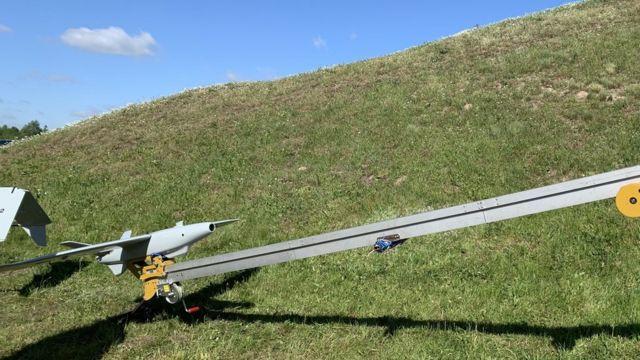 Ударний безпілотник RAM-2 на катапульті