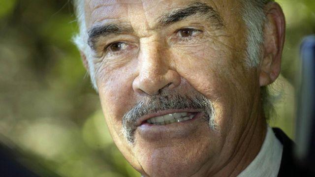 Sean Connery en 2004.