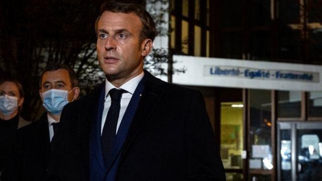 Madaxweyne Macron