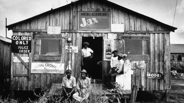 Una foto tomada en el estado Florida en 1941.