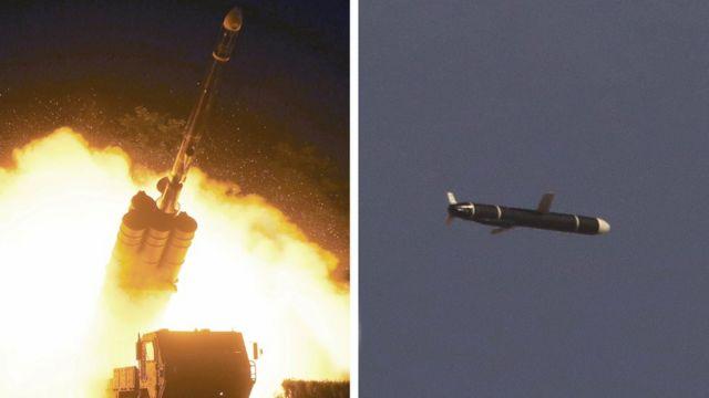 朝鲜官方媒体发布了这些新型巡航导弹的图片