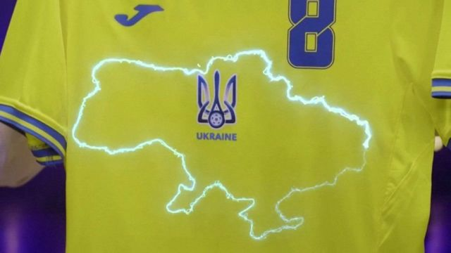 Ukraine national football team shirt