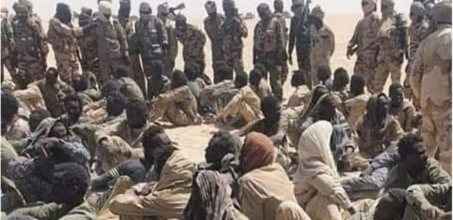 Des rebelles capturés par l'armée tchadienne