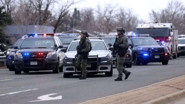 경찰은 총격 사건과 관련해 더 이상의 위협은 없을 것이라고 밝혔다