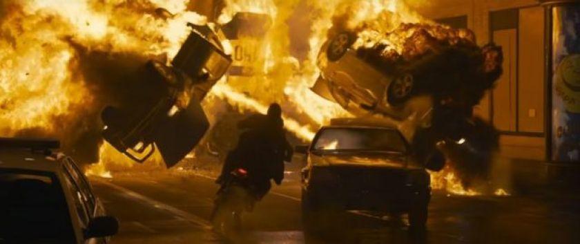 Scene from The Matrix Resurrections