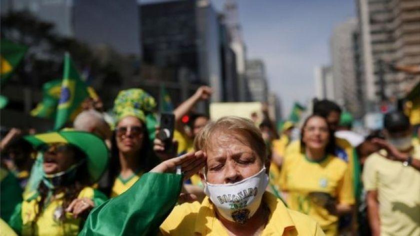 Pro-Bolsonaro Act in Paulista