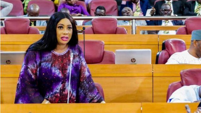 Mojisola Alli-Macaulay: Biography of Lagos female lawmaker wey say Nigerian  youths dey high on drugs all di time - BBC News Pidgin