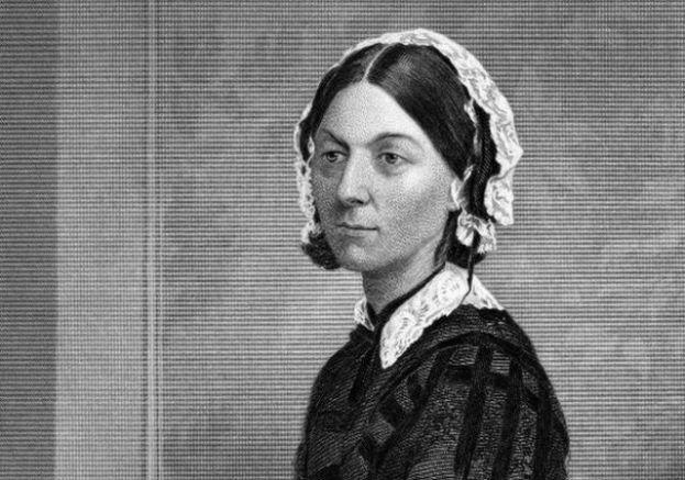 """نُقشت هذه الصورة من قبل فنان غير معروف ونشر في """"معرض الصور لرجال ونساء بارزين مع سيرهن الذاتية في الولايات المتحدة الأمريكية، 1873"""
