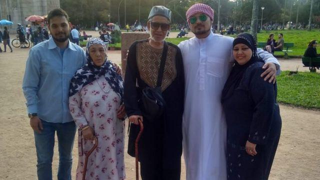 Nabil's family