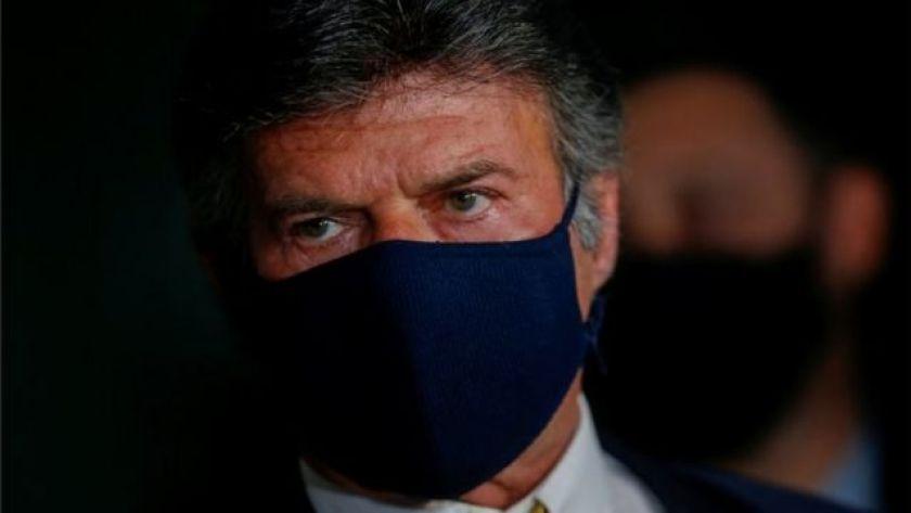 Luiz Fux wearing mask