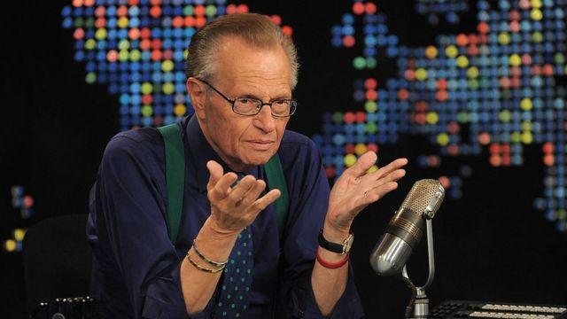 Larry King en 2010