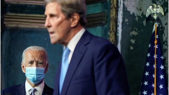 John Kerry is Biden's special envoy on climate change