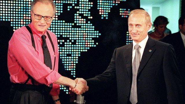 Larry King with Putin
