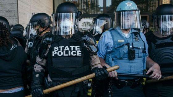 Policiais em Chicago