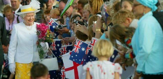 La Reine en Australie en 2006
