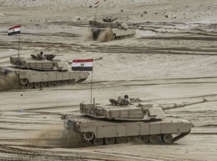 دبابات مصرية