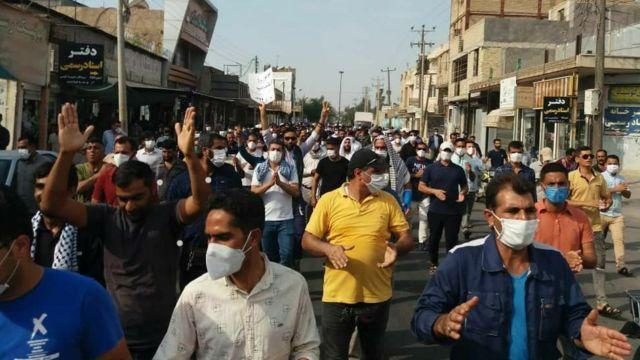 قوه قضائیه از کارگران هفت تپه خواست به اعتصاب پایان دهند - BBC News فارسی
