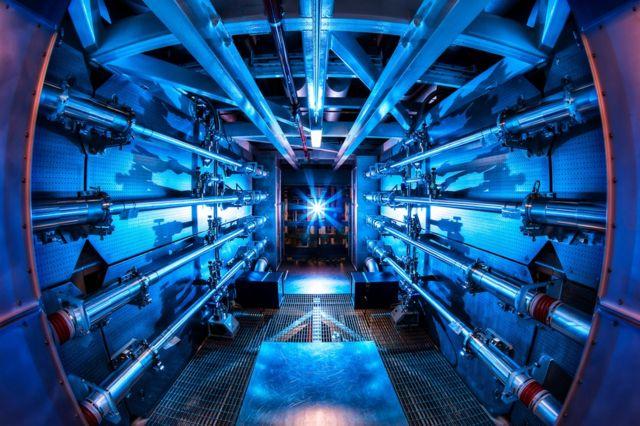 Large internal laboratory structure photo