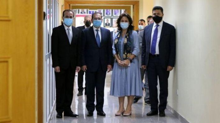 Suriye, Mısır, Ürdün ve Lübnan'ın enerji bakanları, 8 Eylül'de Ürdün'ün başkenti Amman'da bir araya geldi