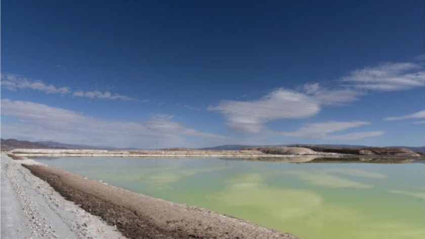 Lithium mines in Chile