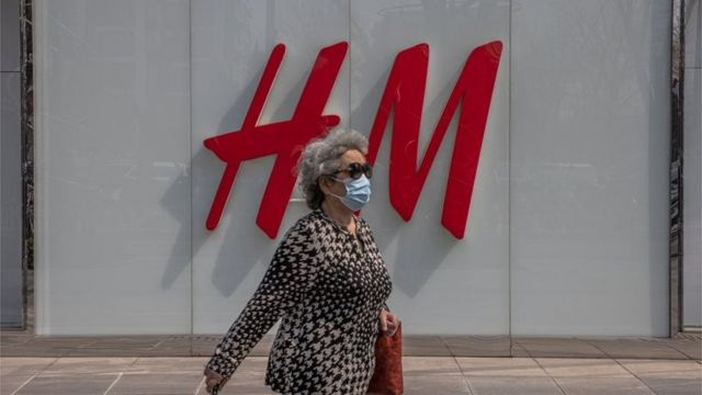 北京的H&M店
