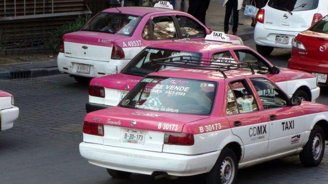 Taxis de Ciudad de México