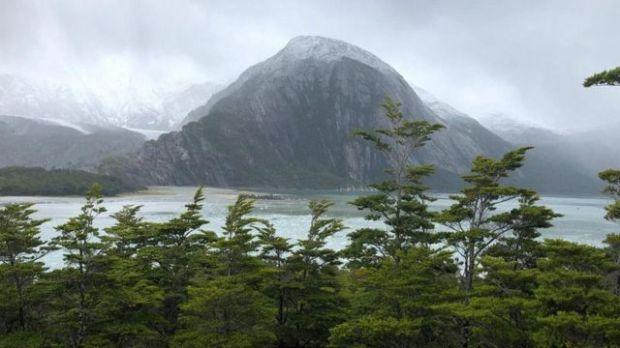El glaciar Pia