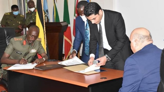 Egypt and Uganda sign an intelligence cooperation agreement