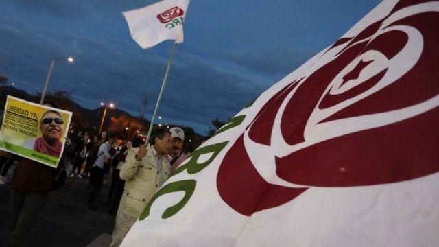 Bandera de la FARC