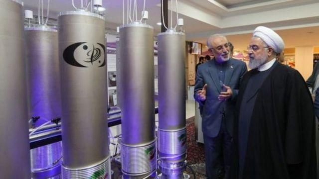 Madaxweynaha Iran oo kormeeraya xarumaha nukliyeerka