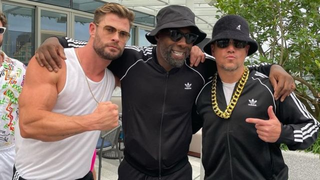 Chris Hemsworth, Idris Elba y Matt Damon