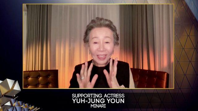 韩国的尹玉贞获得了最佳女配角奖。