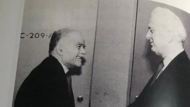 Shevardnadze and Shamir