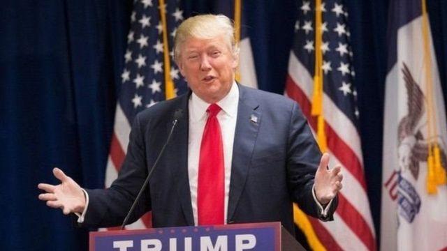 Madaxweyne Trump