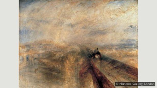 'Chuva, Vapor e Velocidade - A Grande Estrada de Ferro do Oeste', de Turner
