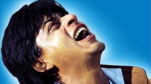 फ़िल्म डर में शाहरुख़ ख़ान