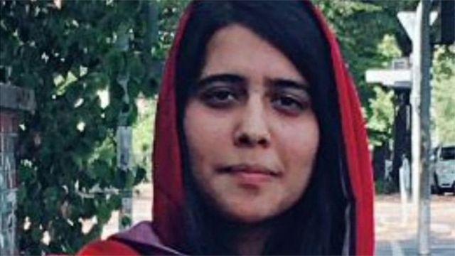 Silsila Alikhel, daughter of Afghanistan's ambassador to Pakistan, Najibullah Alikhel